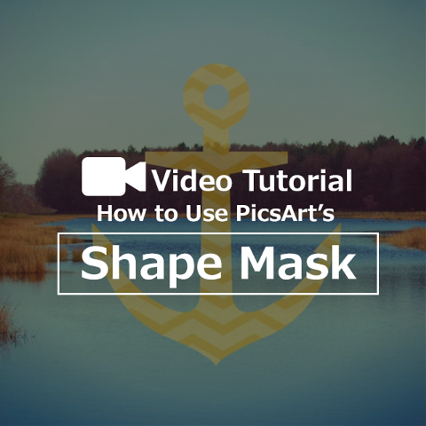 shape mask photo effects