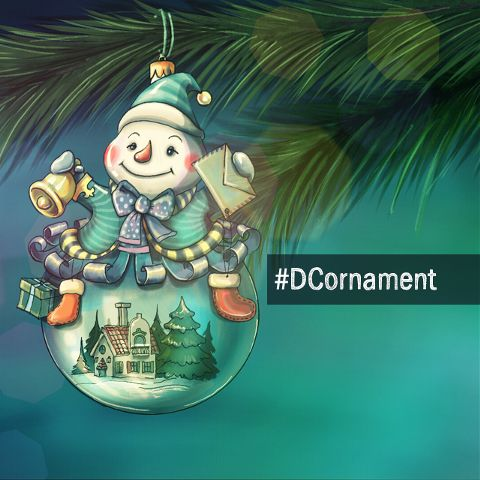 Christmas ornament drawing contest
