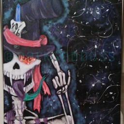 mad hatter dead man wonderland painting