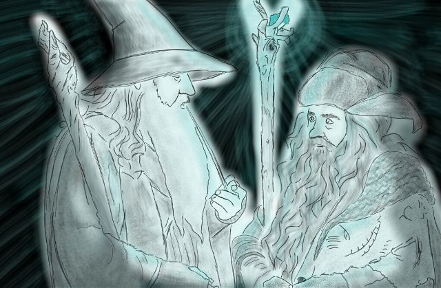Wizard drawing contest winners