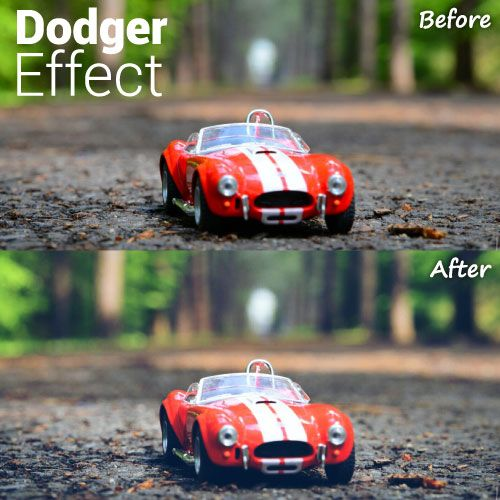 Dodger effect photo editing