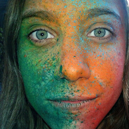 beauty colorful people photography face