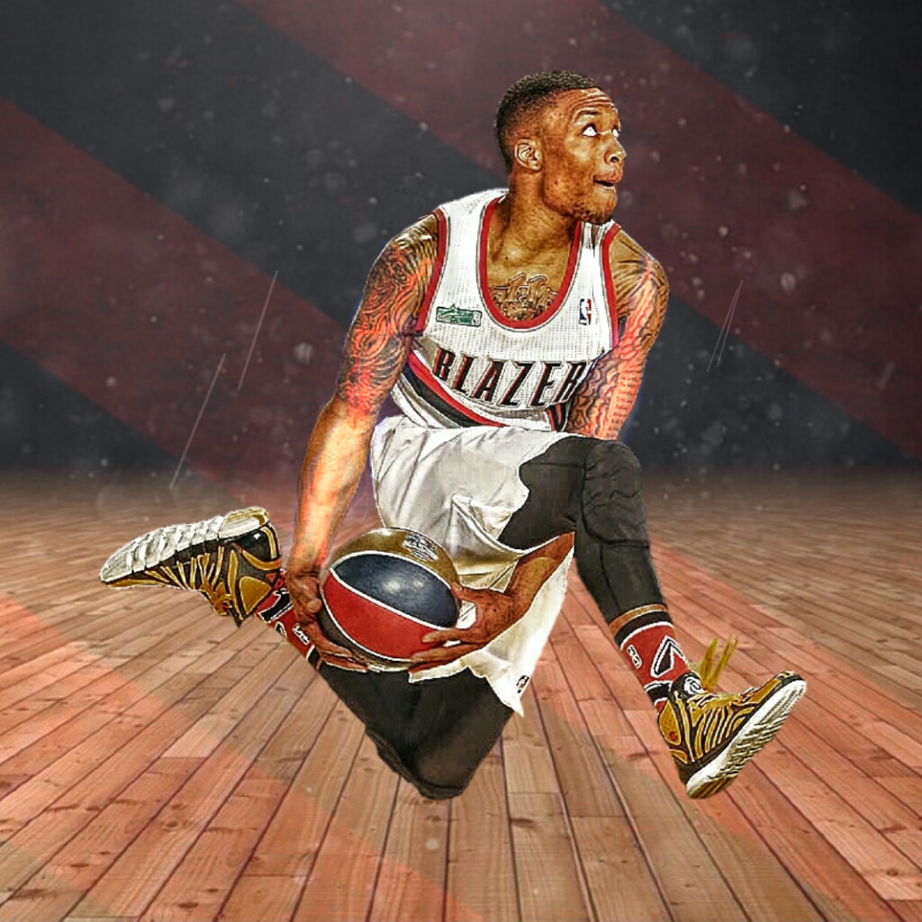 Damian Lillard: Photo By Erick Saelee