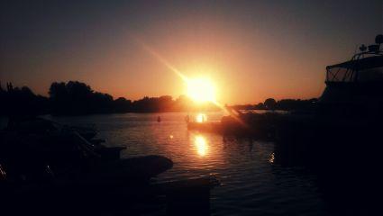 love river summer sunset cute
