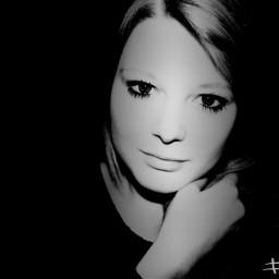 black & white wapblackandwhiteprotrait