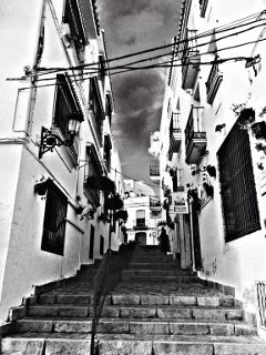 photography black & white travel art estepona