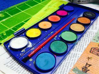 colorful paints art mysanctuary
