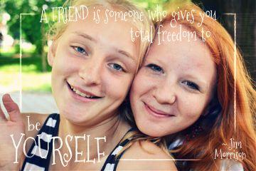 people friendship happiness gdbffpostcard
