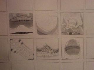 blackandwhite drawing pencil pencilart nike