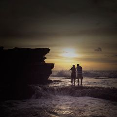 beach emotions photography