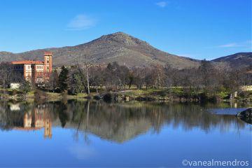 photography reflection mountains landscape