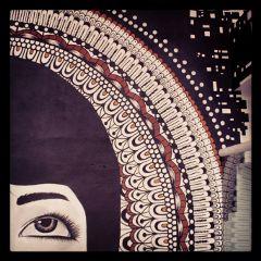 art mural blackandwhite colors illustration